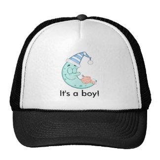 Baby Boy Sleeps Cap