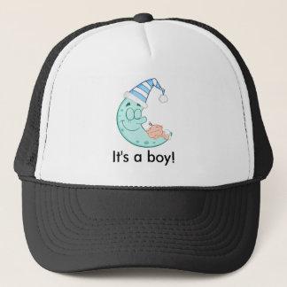 Baby Boy Sleeps Trucker Hat