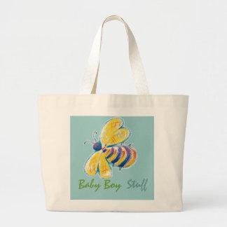Baby Boy Stuff jumbo tote bag