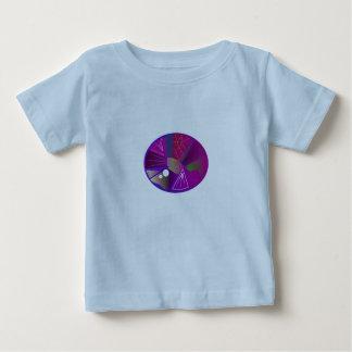 Baby Boy SUMMER TSHIRT WITH GEMSTONE PURPLE BLUE