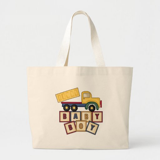 Baby Boy Toy Truck Bag