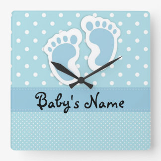 """Baby Boy"" Wall Clock"