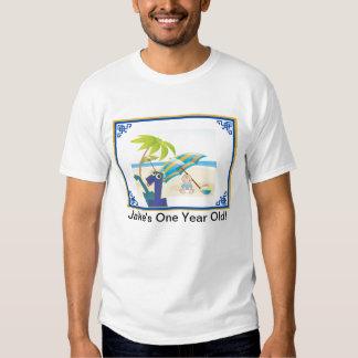 Baby Boy's First Year Birthday T Shirt