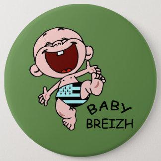 BABY BREIZH 6 CM ROUND BADGE
