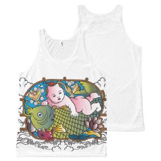 Baby Buddha All-Over Print Tank Top