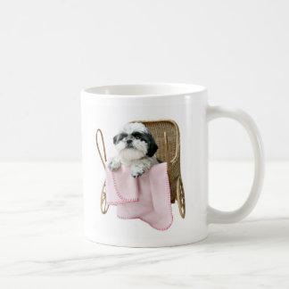 Baby buggy dogs coffee mug