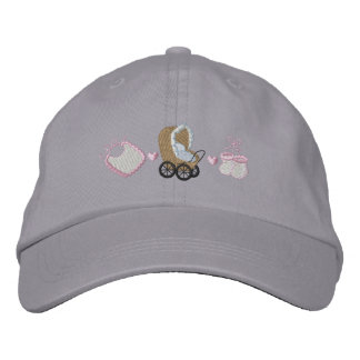 Baby Buggy Embroidered Cap