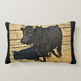 Baby Bull Accent Throw Pillow