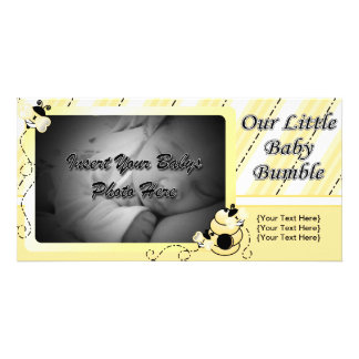 Baby Bumble Announcement Card