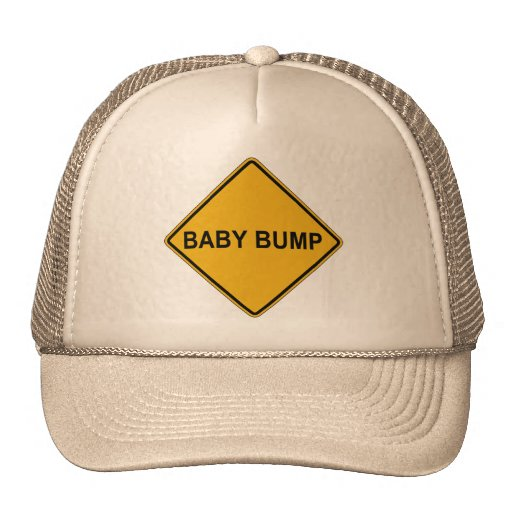 Baby Bump Maternity Trucker Hats