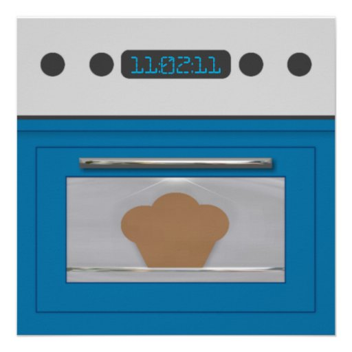 Baby Bun Recipe Invitation(blue)