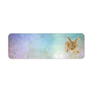 BABY BUNNY ADDRESS LABELS
