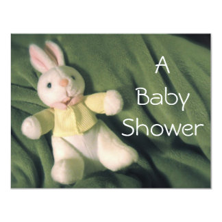 Baby Bunny Baby Shower Invite