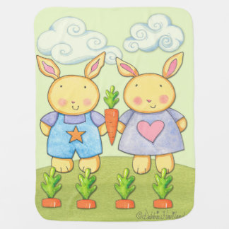 Baby Bunny Fleece blanket