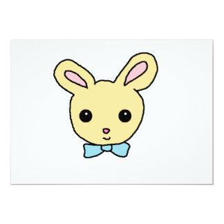 Baby Bunny 13 Cm X 18 Cm Invitation Card