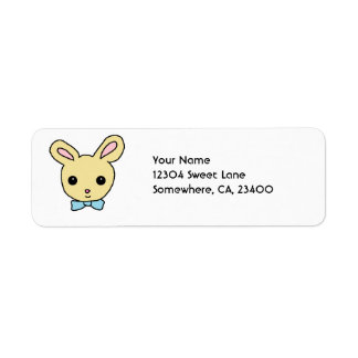 Baby Bunny Return Address Label