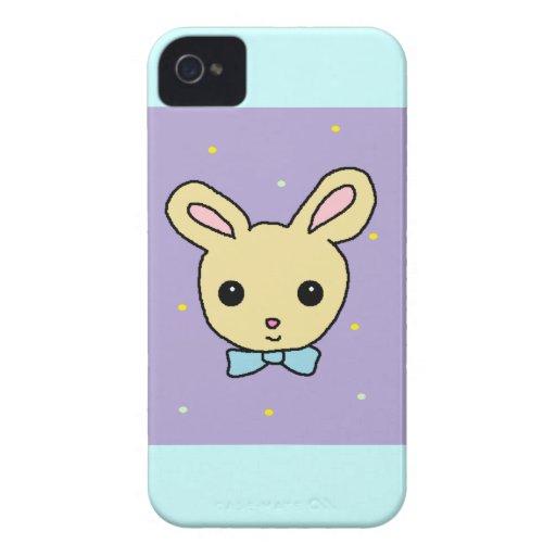 Baby Bunny Purple Blackberry Cases