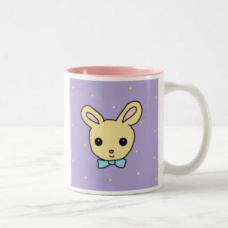 Baby Bunny Purple Two-Tone Mug