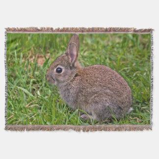 Baby Bunny Throw Blanket