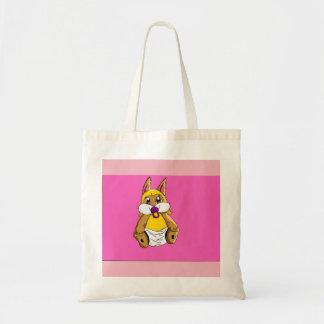 baby bunny tote bag