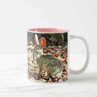 Baby Bunny Two Tone Coffee Mug