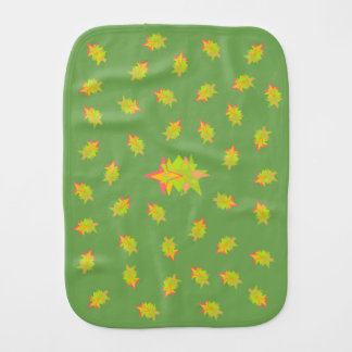 Baby Burp Cloth (Burp on Stars)