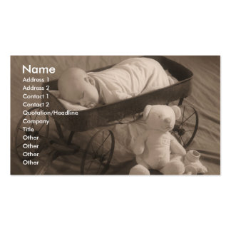 Baby Business or Announcement Business Card Templates