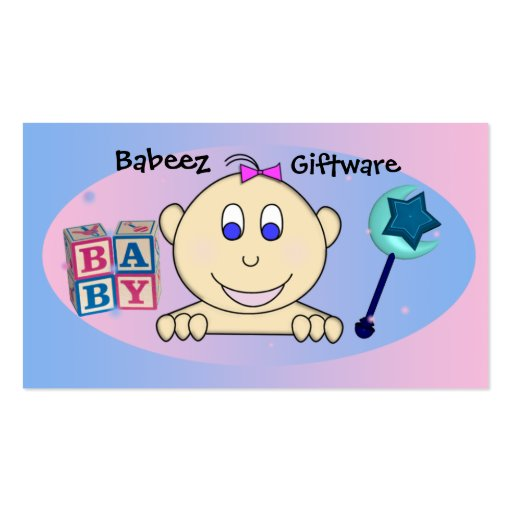Baby  Businesses Business Card