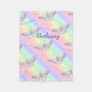 Baby Butterflies Fleece Blanket