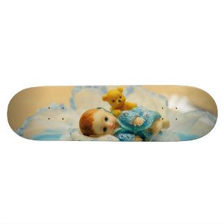 Baby cake topper skate deck