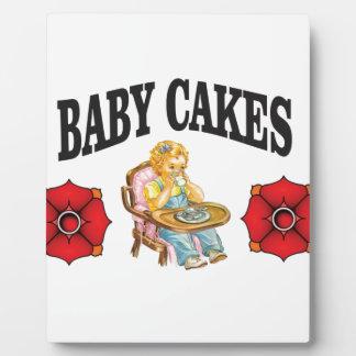 baby cakes child plaque