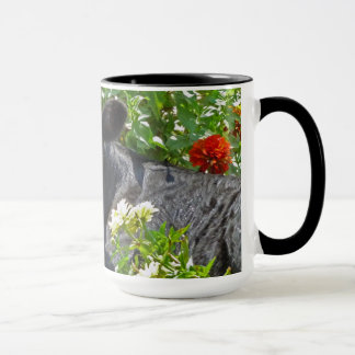 Baby Calf in the Flowers Mug