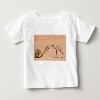 Baby Camel and its Mother Baby T-Shirt