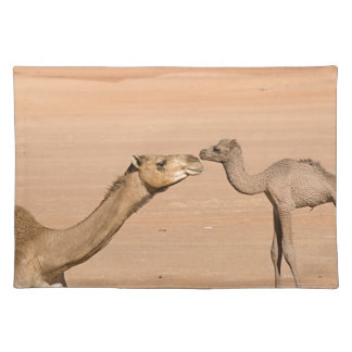 Baby Camel and its Mother Placemat