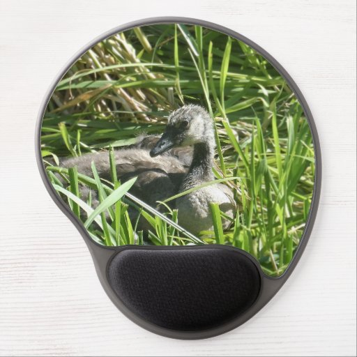 Baby Canada Goose Gel Mouse Mats