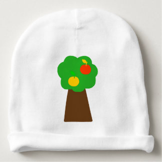 Baby cap with a tree reason baby beanie