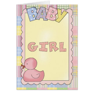 Baby Cards Shower, Congrats, New Baby Girl