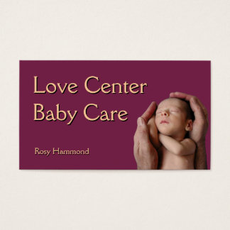 Baby Care Business Card