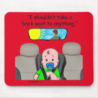 Baby Care Mouse Pad