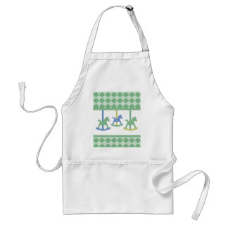 Baby Carousel Collection Standard Apron