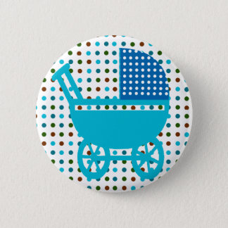 Baby Carriage Gifts 6 Cm Round Badge
