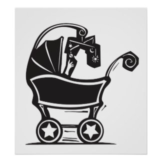 Baby Carriage Print