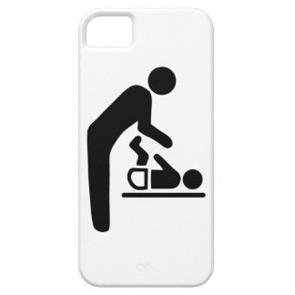 Baby Change Symbol Barely There iPhone 5 Case