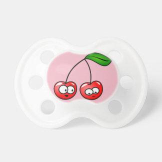 Baby Cherry Binky Passifyer Pink Gift  Holiday Fun Dummy