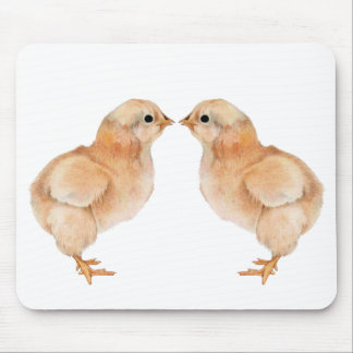 Baby Chick Love Mousepad