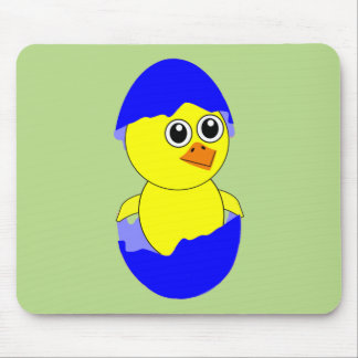 Baby Chick Maternity Baby Boy Blue Mouse Pad