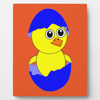 Baby Chick Maternity Baby Boy Blue Plaque