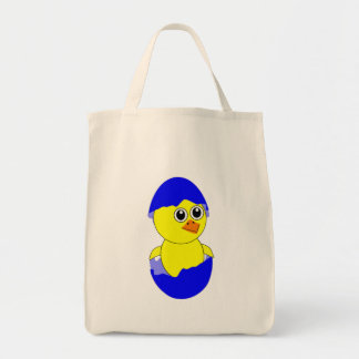 Baby Chick Maternity Baby Boy Blue Tote Bag