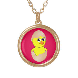 Baby Chick Maternity Customize Gold Plated Necklace