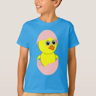 Baby Chick Maternity Girl Pink T-Shirt